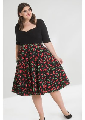Hell Bunny Hell Bunny Sweetie Cherry 50s Skirt