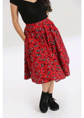 Hell Bunny PRE ORDER Hell Bunny Alison Cherry 50s Skirt