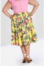 Hell Bunny PRE ORDER Hell Bunny Kalani 50s Skirt Yellow