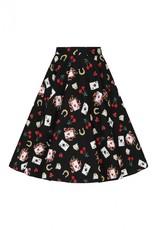 Hell Bunny PRE ORDER Hell Bunny Viva Las Vegas 50s Skirt