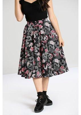 Hell Bunny PRE ORDER Hell Bunny Mushu 50s Skirt