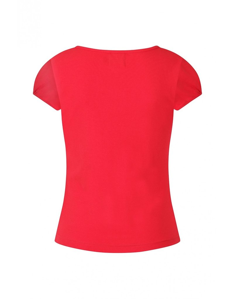 Hell Bunny SPECIAL ORDER Hell Bunny Jersey Mia Top Red