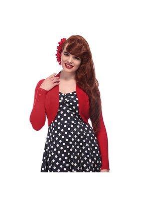 Collectif Collectif 1950s Jean Bolero Red