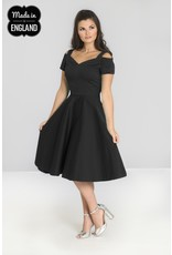 Hell Bunny PRE ORDER Hell Bunny Helen 50s Dress Black