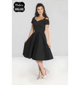 Hell Bunny SPECIAL ORDER Hell Bunny Helen 50s Dress Black