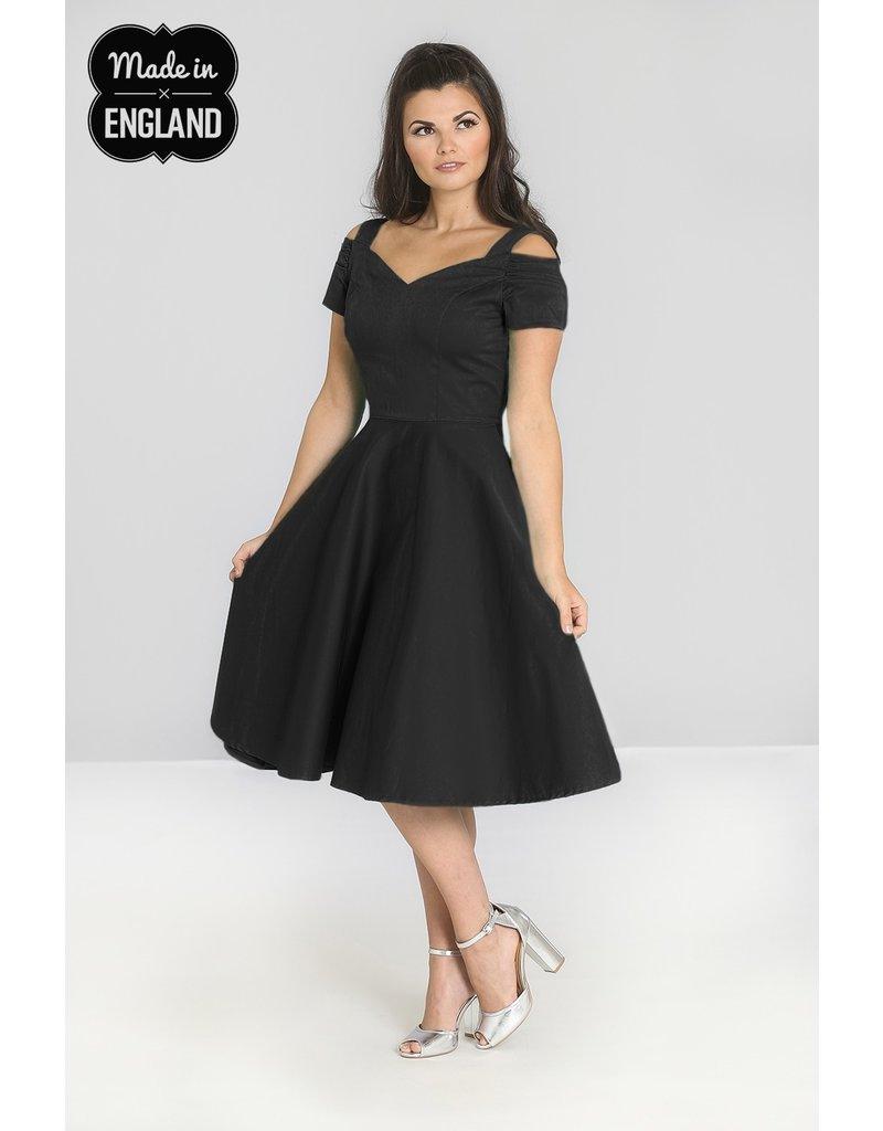 Hell Bunny SPECIAL ORDER Hell Bunny Helen 50s Dress Black