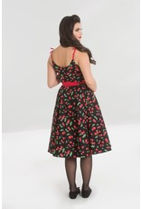 Hell Bunny PRE ORDER Hell Bunny Sweetie Cherry Dress Black