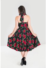 Hell Bunny PRE ORDER Hell Bunny Cannes 50s Halter Dress Black