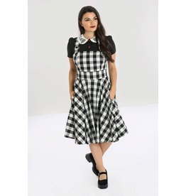 Hell Bunny PRE ORDER Hell Bunny Pinafore Victorine 50s Dress