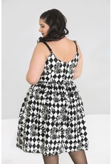 Hell Bunny PRE ORDER Hell Bunny Hauntley 50s Pleated Dress