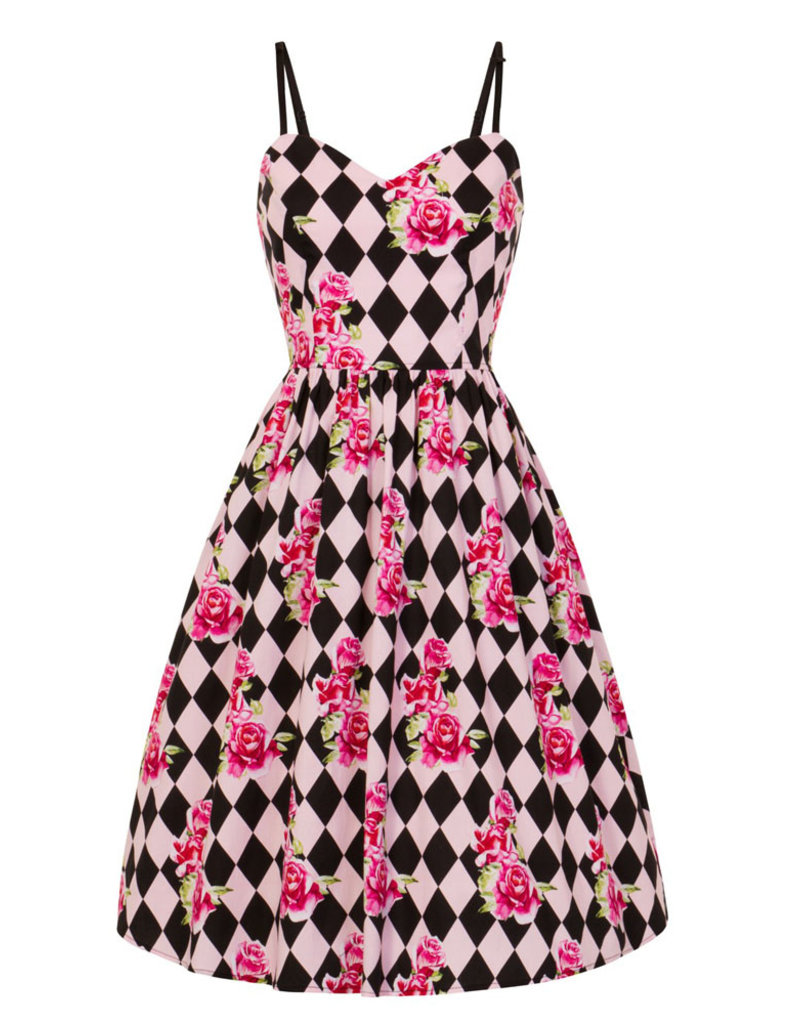 Hell Bunny PRE ORDER Hell Bunny Harlequin 50s Dress