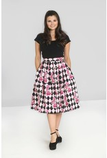 Hell Bunny PRE ORDER Hell Bunny Harlequin 50s Pleated Skirt