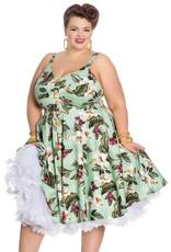 Hell Bunny PRE ORDER Hell Bunny Tahiti 50s Dress Green
