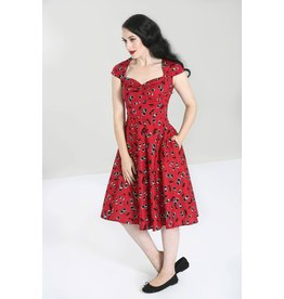 Hell Bunny PRE ORDER Hell Bunny Alison 50s Red Cherry Dress