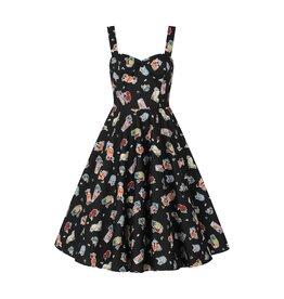 Hell Bunny PRE ORDER Hell Bunny Tiki Treat 50s Swing Dress