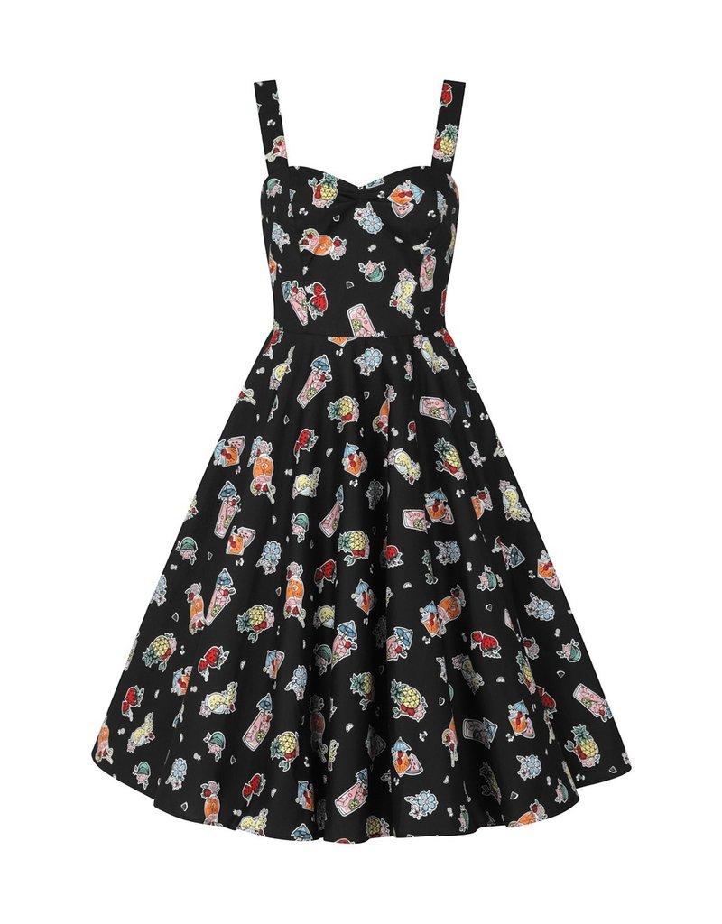 Hell Bunny SPECIAL ORDER Hell Bunny Tiki Treat 50s Swing Dress