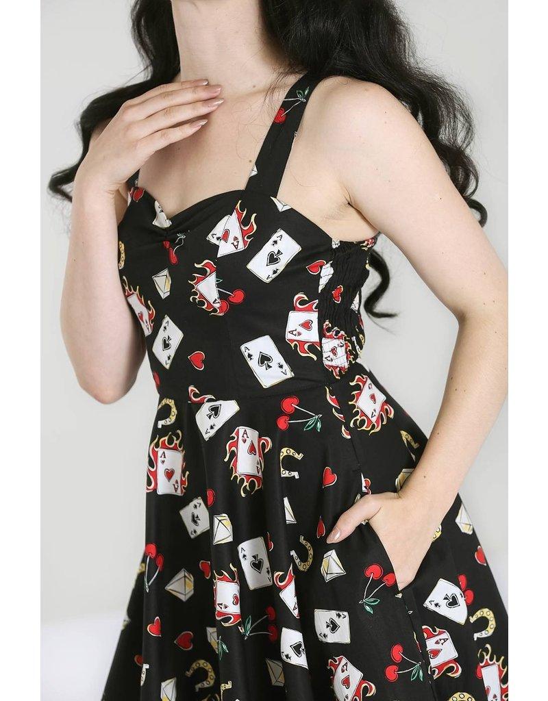 Hell Bunny PRE ORDER Hell Bunny Viva Las Vegas 50s Dress