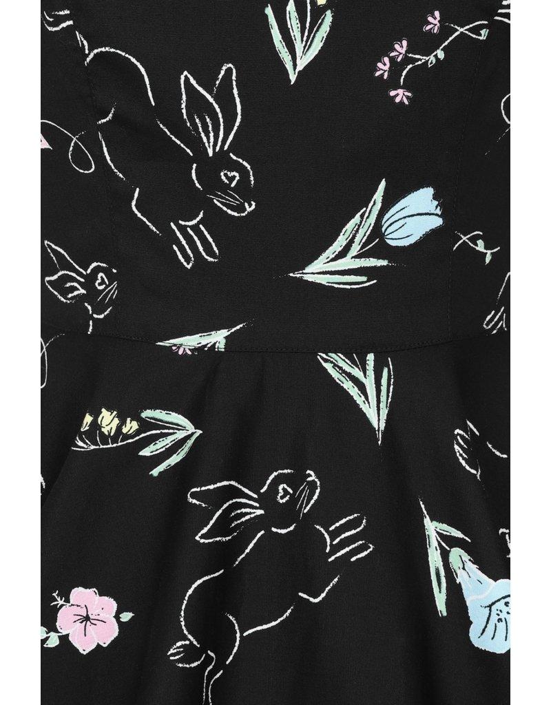 Hell Bunny PRE ORDER Hell Bunny Binky 50s Bunnies Dress