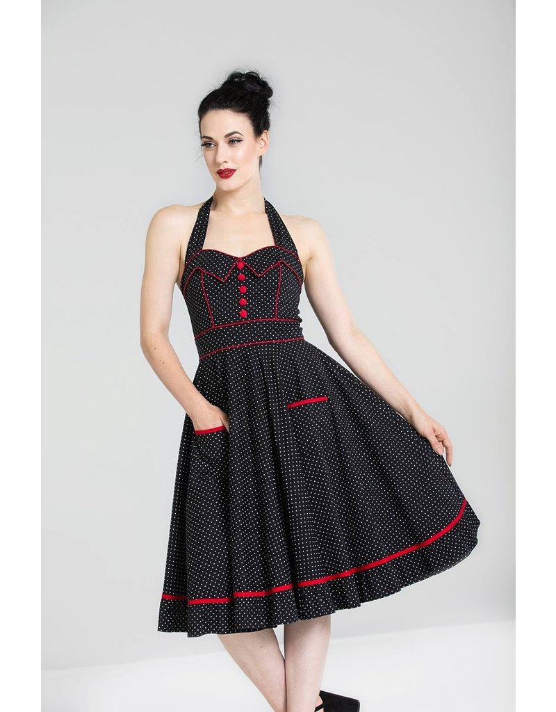 Hell Bunny PRE ORDER Hell Bunny Vanity 50s Dress Black