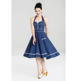 Hell Bunny PRE ORDER Hell Bunny Vanity 50s Dress Blue