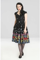 Hell Bunny PRE ORDER Hell Bunny Meadow 50s Border Dress