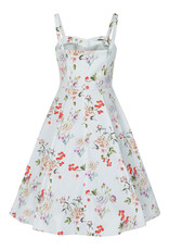 Hearts and Roses Hearts & Roses 1950s Monroe Floral Swing Day Dress