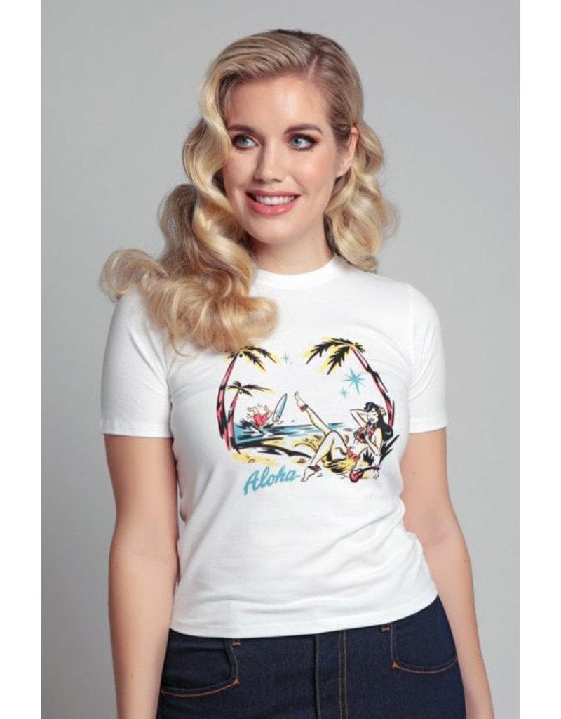 Collectif Collectif 1950s Aloha T-Shirt