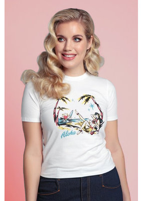 Collectif Collectif 1950s Aloha T-Shirt
