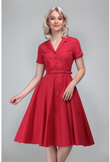 Collectif Collectif 1950s Caterina Dress Red