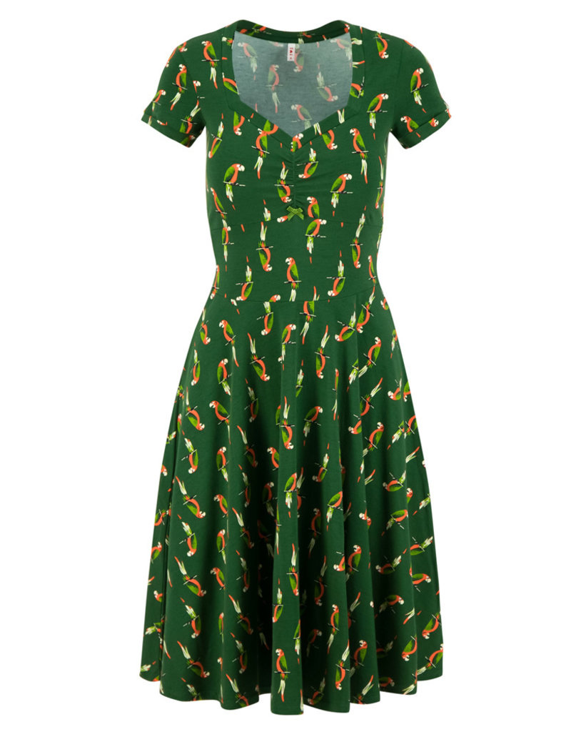 Blutsgeschwister Blutsgeschwister Heart on Fire Parrot Parody Dress