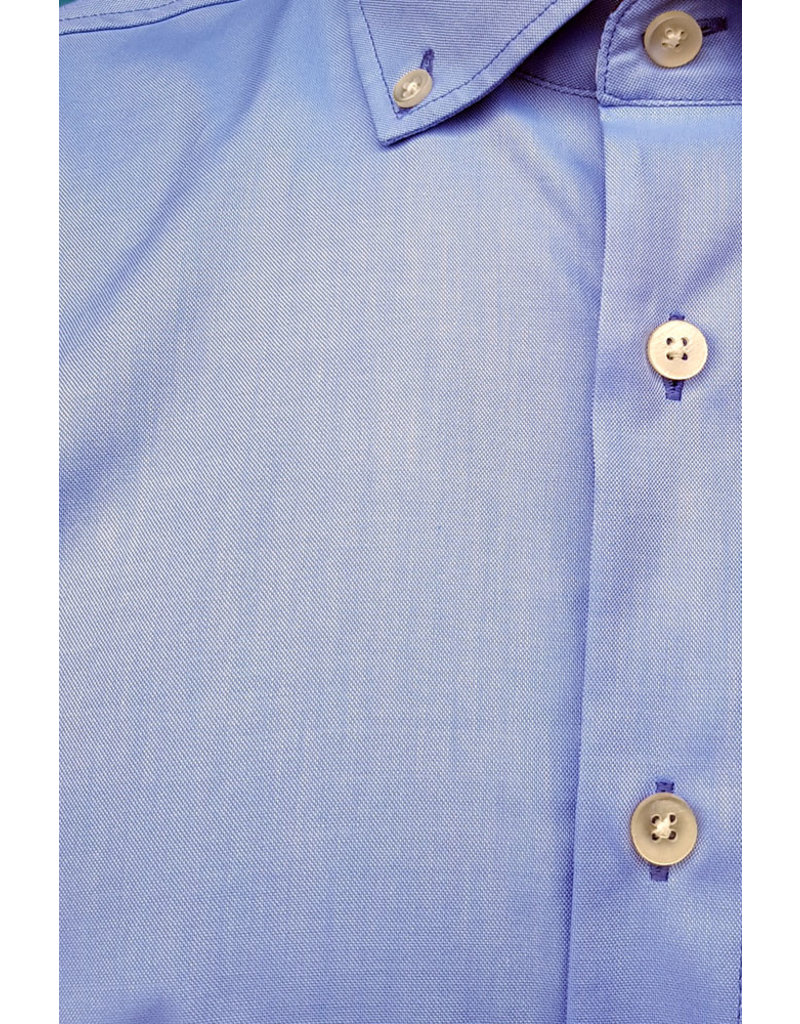 Haupt Haupt Fancy Blue Long Sleeve Mens Shirt