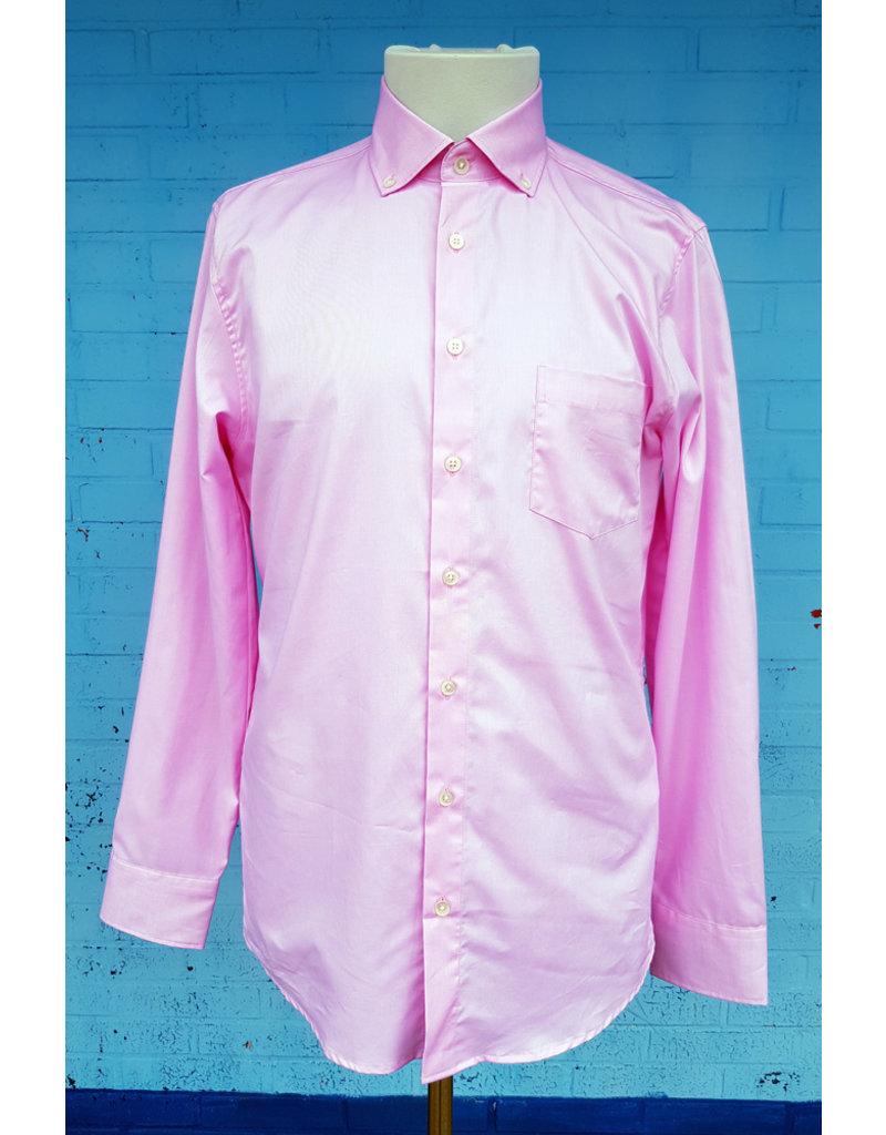 Haupt Haupt Fancy Pink Long Sleeve Mens Shirt