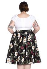 Hell Bunny PRE ORDER Hell Bunny Tahiti 50s Skirt Black