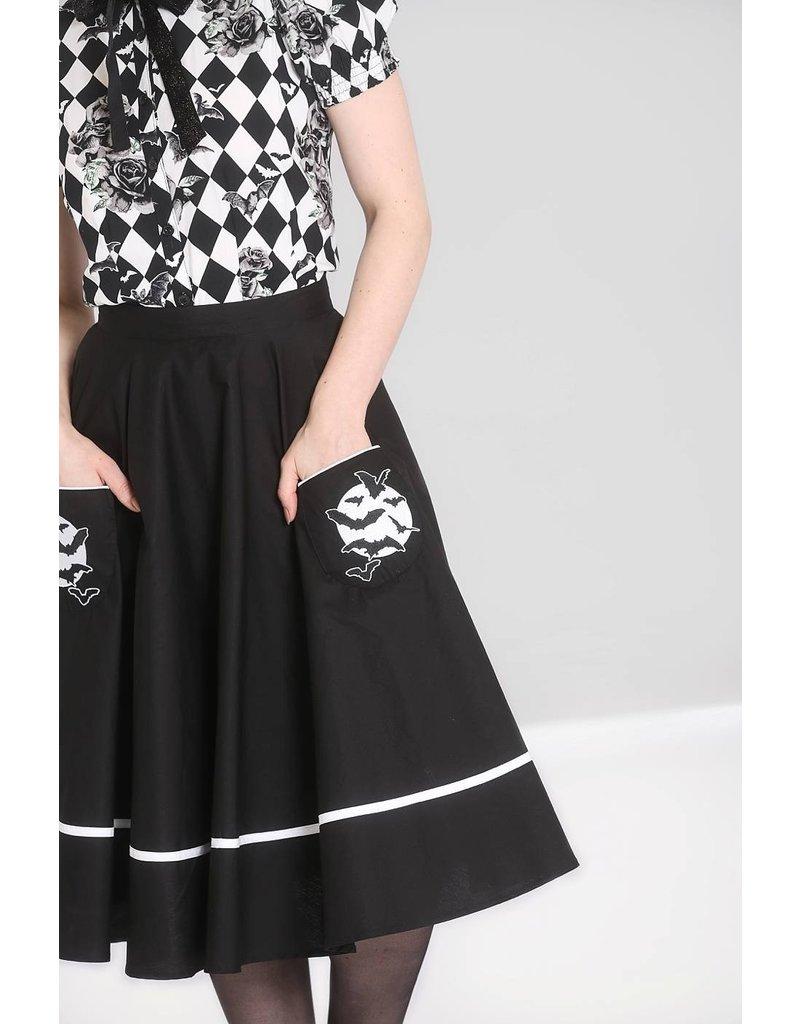 Hell Bunny Hell Bunny 1950s Full Moon Skirt