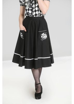 Hell Bunny Hell Bunny 1950s Full Moon Skirt
