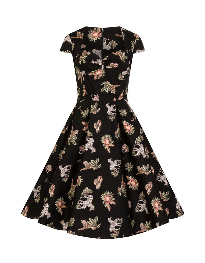 Hell Bunny Hell Bunny 1950s Messina Jungle Dress