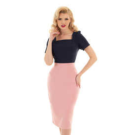 Hearts and Roses Hearts & Roses 1950s The Willow Wiggle Skirt
