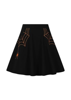 Hell Bunny PRE ORDER Hell Bunny Miss Muffet Mini Skirt Orange