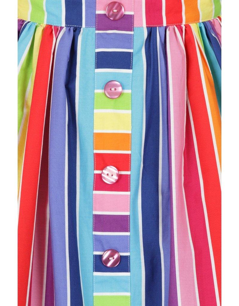 Hell Bunny PRE ORDER Hell Bunny 50s Over The Rainbow Skirt