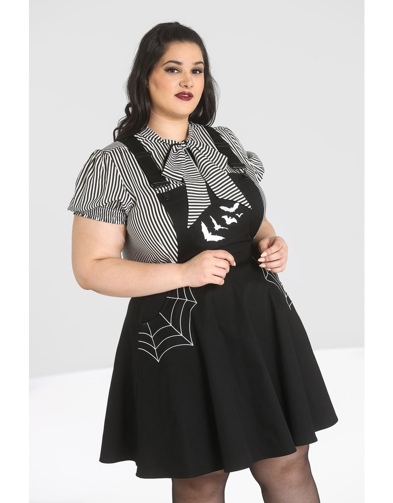 Hell Bunny Hell Bunny Miss Muffet Pinafore Dress