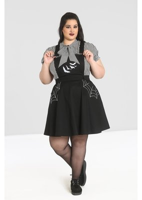 Hell Bunny SPECIAL ORDER Hell Bunny Miss Muffet Pinafore Dress
