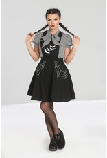 Hell Bunny PRE ORDER Hell Bunny Miss Muffet Pinafore Dress