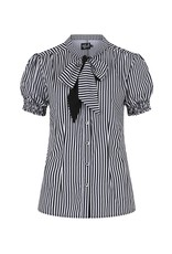 Hell Bunny PRE ORDER Hell Bunny Striped Humbug Blouse