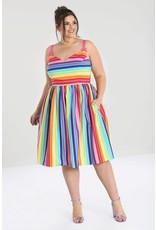 Hell Bunny PRE ORDER Hell Bunny 50s Over The Rainbow Dress