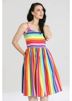 Hell Bunny PRE ORDER Hell Bunny 50s Over The Rainbow Dress