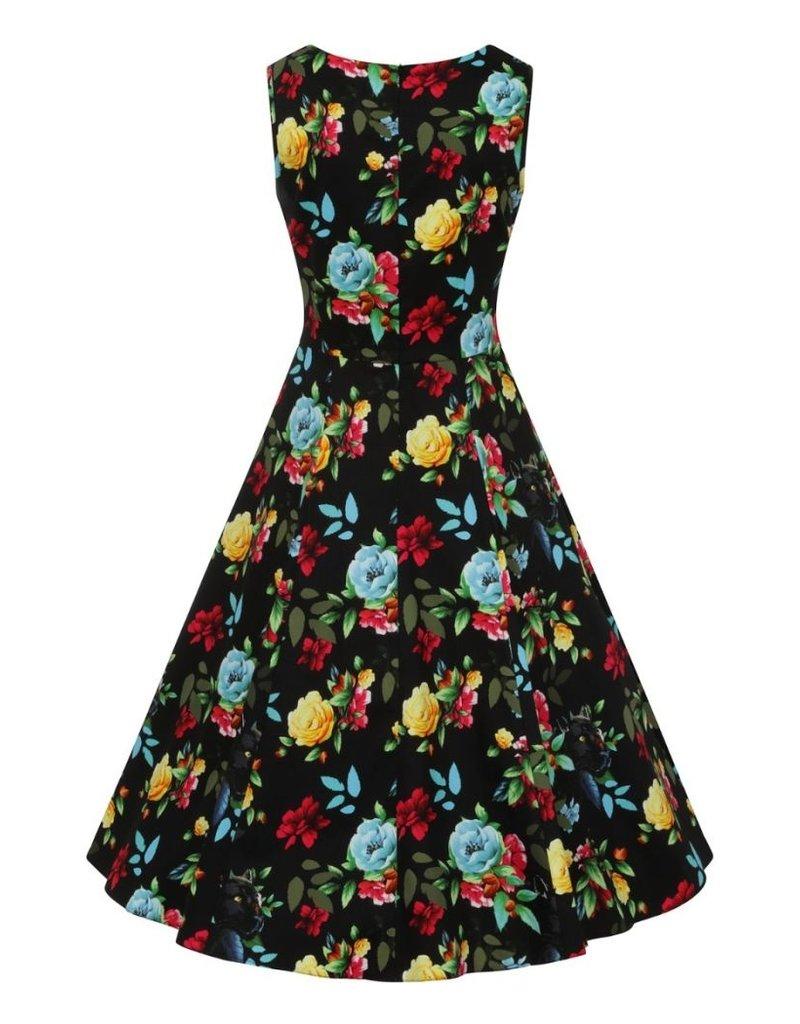 Lady V London Lady Vintage 1950s Jasmine Panthers Paradise Dress
