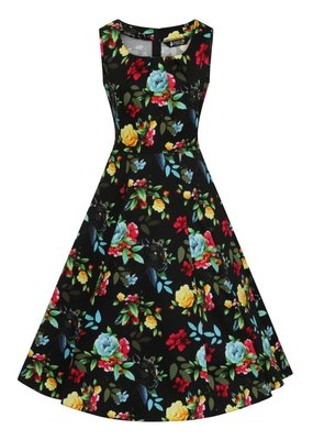 Lady V London Lady Vintage 1950s Jasmine Panthers Paradise Dress