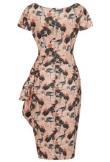 Lady V London Lady Vintage 1950s Elsie Watercolours Dress