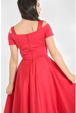 Hell Bunny SPECIAL ORDER Hell Bunny Helen 50s Dress Red