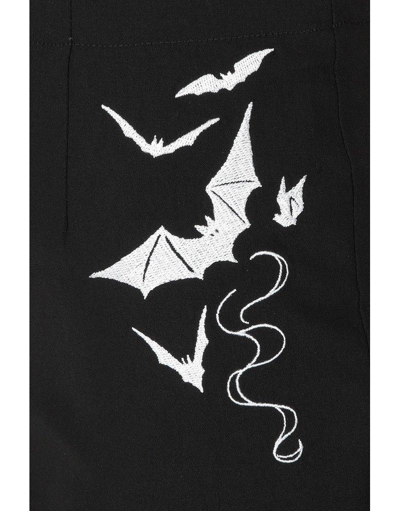 Hell Bunny PRE ORDER Hell Bunny Full Moon Bats Capris